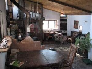 Inside off-grid home Solar Ark