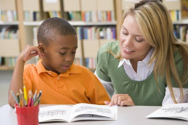Teacher and student - mindful teaching