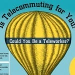 IS TELECOMMUTING FOR YOU? Pros and cons of telework [infographic]