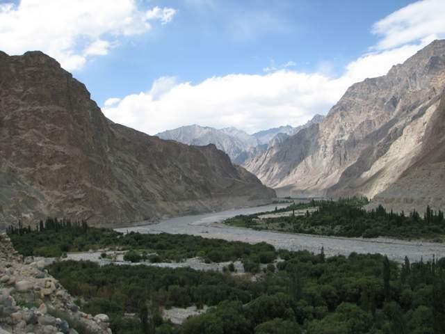 Turtuk in northern Ladakh, India