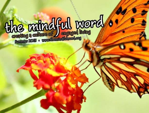 The Mindful Word - summer 2013 issue cover