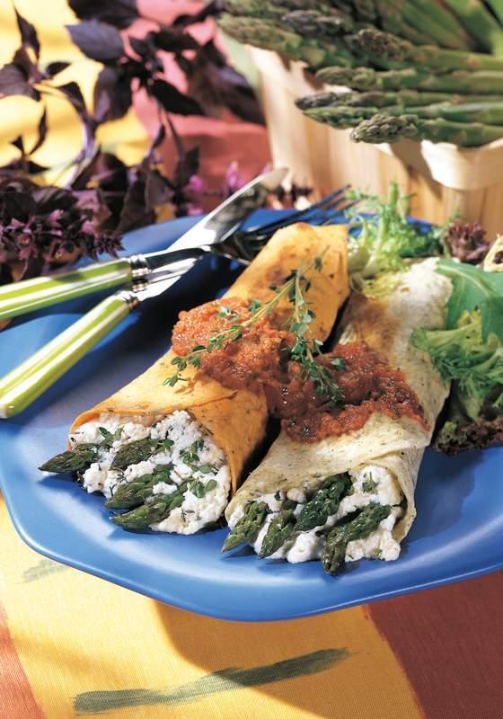 Burrito - Healing herbs recipe excerpts