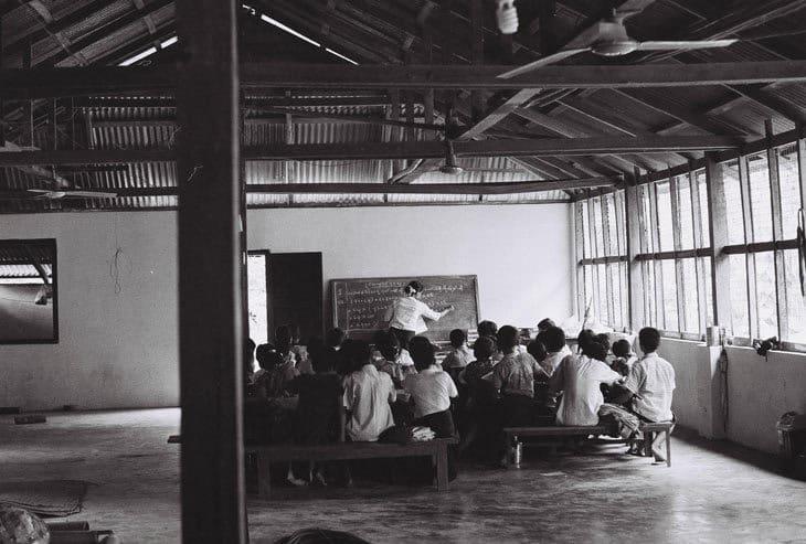 Classroom - teaching English