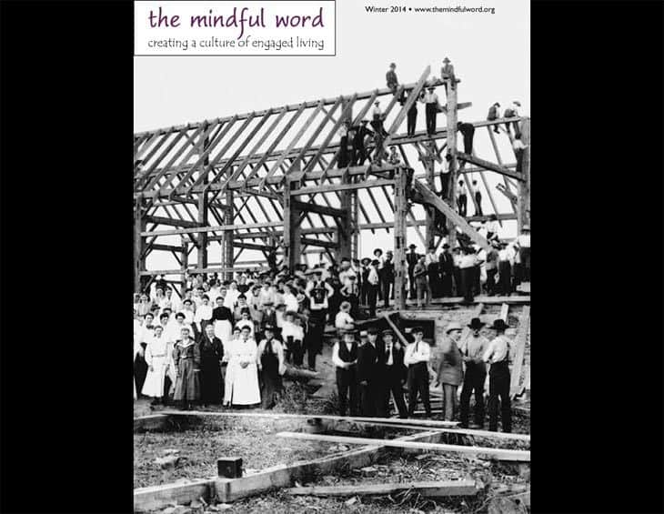 cover - The Mindful Word winter 2014