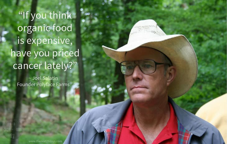 Joel Salatin - lunatic farmer - quote