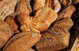 basket of bread - making food