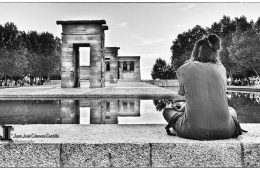 Man sitting in meditation