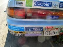 BUMPER STICKER WISDOM III: Lessons learned from the back of a car