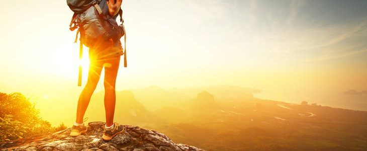 Woman on mountain - Poems by Andrea Volken