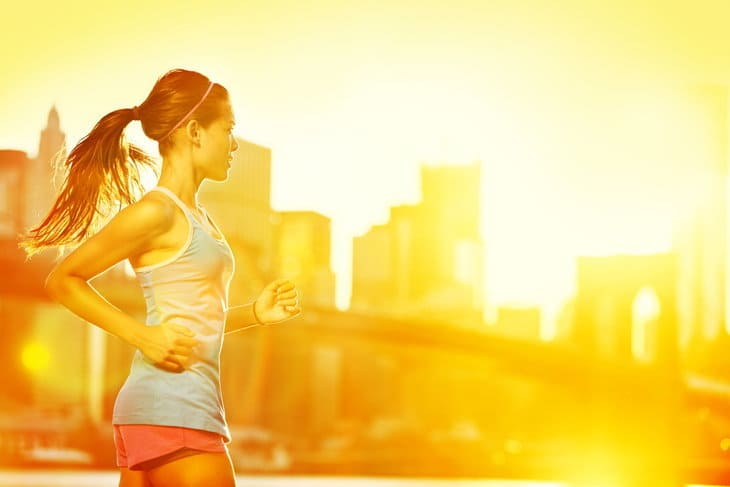 Exercise - running woman