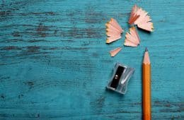Pencil and shavings - awareness and writing