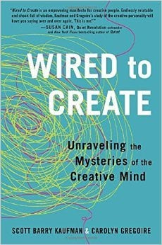 Book cover - Wired to Create book review