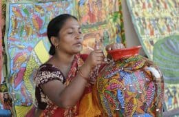 Fair trade workers in India