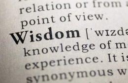 dictionary definition of wisdom