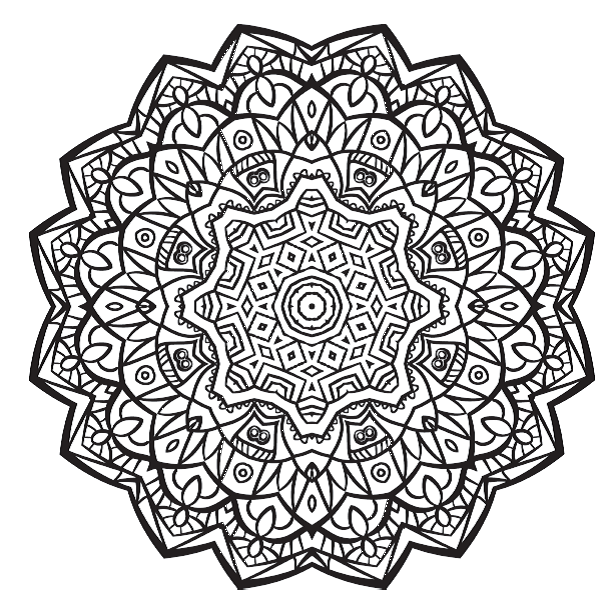 FREE COLOURING PAGES 5 Stunning Mandalas To Colour From