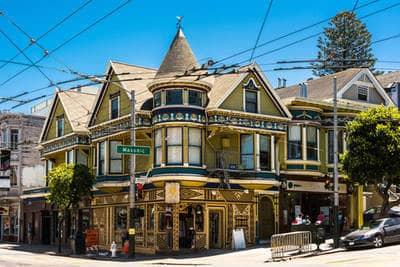 Haight-Ashbury area, San Francisco - Nobody knows you fiction