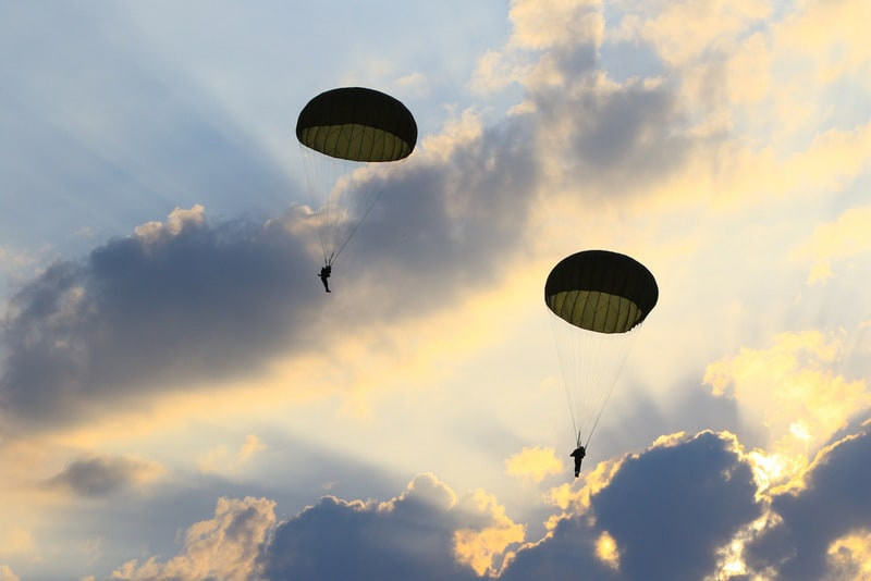 DREAM INTERPRETATION: The discovery process and integration [symbols: parachutes, broken legs and healing]