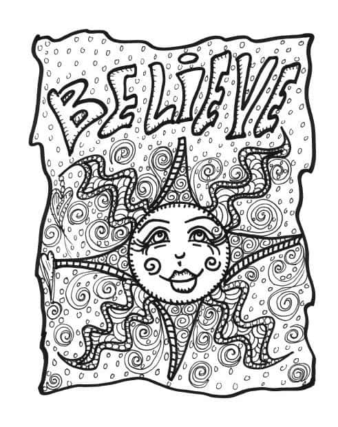 Relaxing Adult Coloring Pages