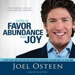 Joel Osteen Living in Favor audio