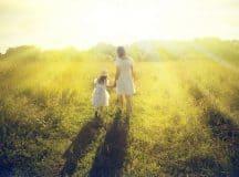 DREAM INTERPRETATION: Continue to tend to your current mental attitudes [symbols: mother, light]