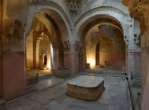 DREAM INTERPRETATION: Being comfortable with oneself and with learning [symbols: Turkish bath, men, naked, swimming pool]