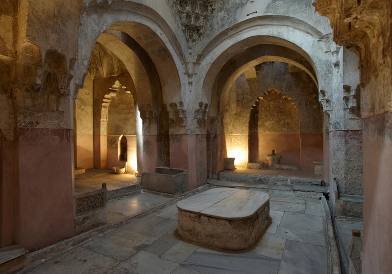 Turkish bath in Greece