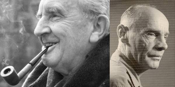J.R.R. Tolkien and Francis Brabazon -