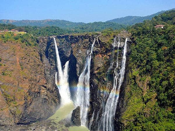 Jog falls - Cascading waterfalls