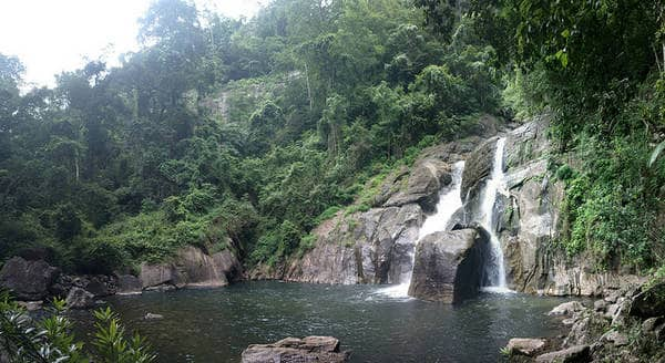 Meenmutty falls - Cascading waterfalls