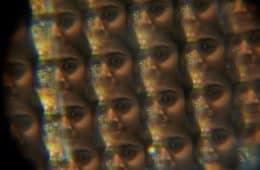 Multi-faces of a single person