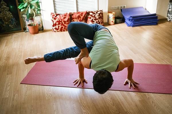 Yoga asana pose - Breathe better, live better