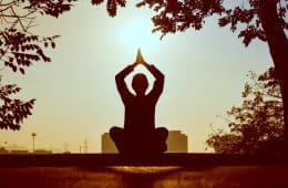 Man meditation - timelesness