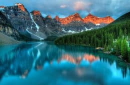 mountain nature alberta canada