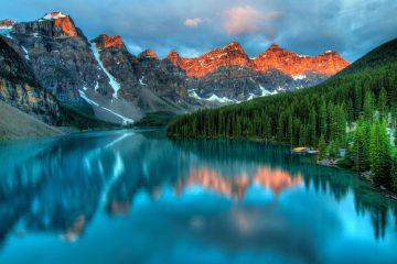mountain nature alberta canada
