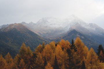 mountain autumn trip of trust