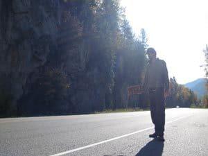 Hitch hiking in Canada