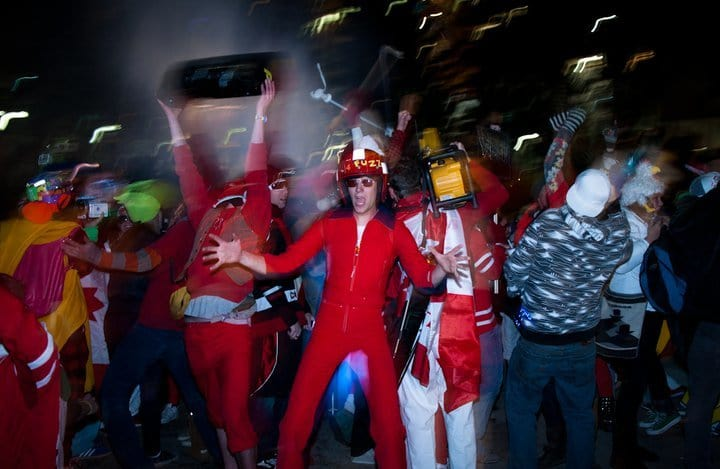 Decentralized Dance Party (2010 Winter Olympics)