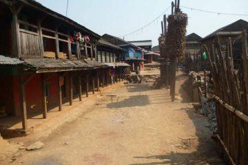 Town near Bandipur, Nepal