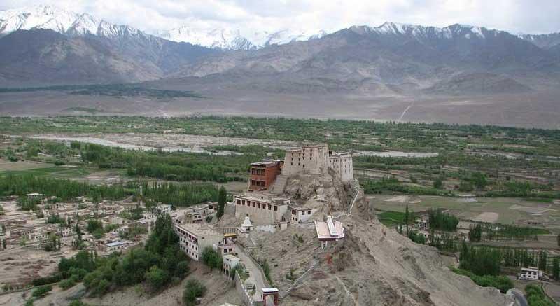 Thiksey monastery, Ladakh, India