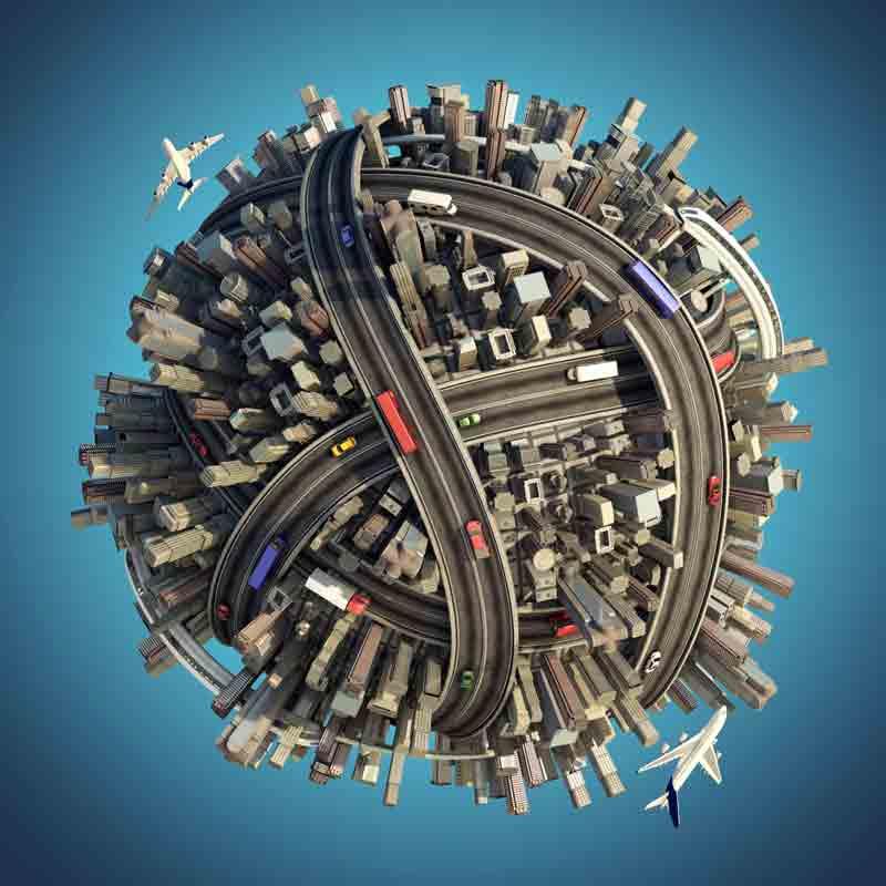 Humankind's inertia and climate change