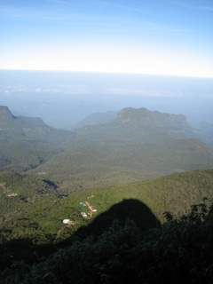 Shadow of Sri Pada (Adam's peak)