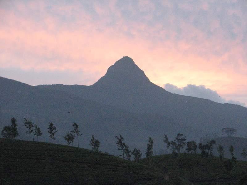 Sri Pada or Adam's Peak mountain