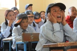 Spiritual Warriors - boys acting up in class