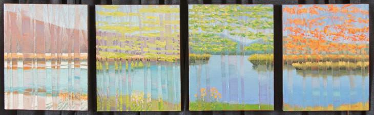 Painting - four seasons