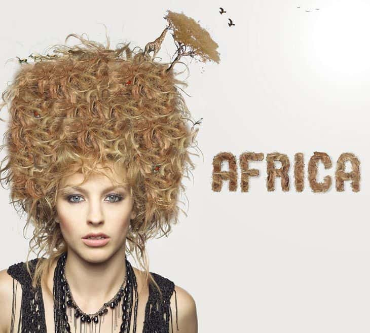 Africa conceptual image - Woman
