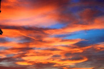 sky with nice colours