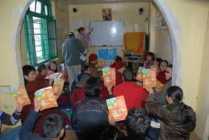 Lha - language class (Mcleod Ganj)