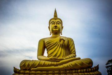golden gautama buddhas brain