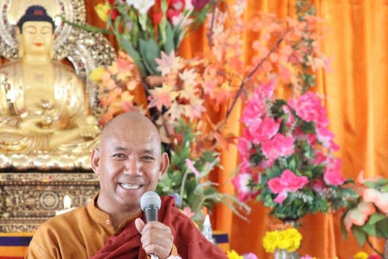 Venerable Bhikkhu Sanghasena of Mahabodhi