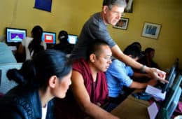 Volunteering for a Free Tibet